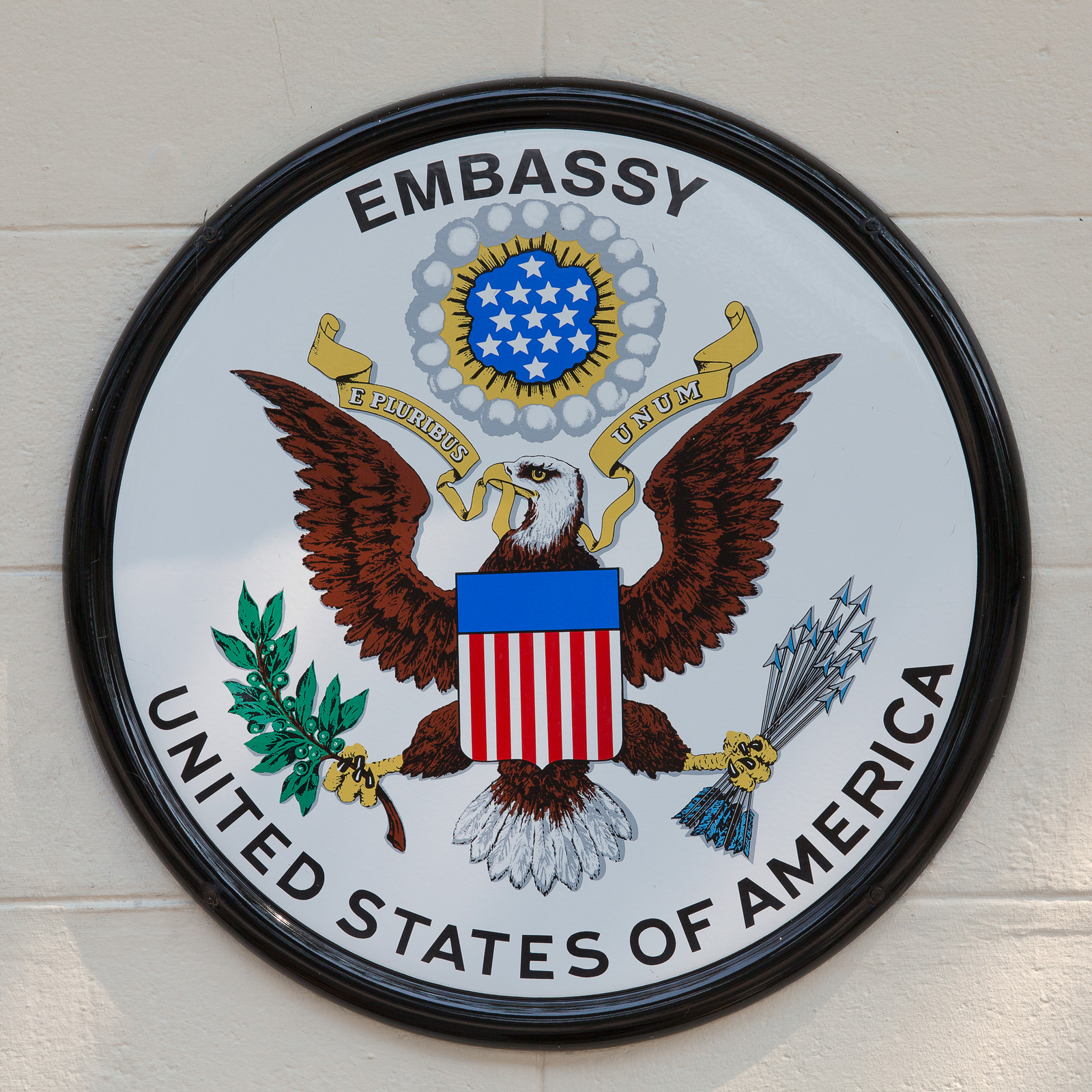 DENIAL OF IMMIGRANT VISAS BY THE U S  CONSULATE